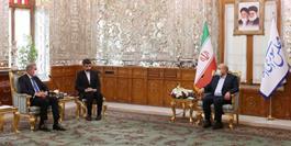تاکید رئیس مجلس بر گشایش بازارچه های مرزی ایران و پاکستان / قالیباف: رعایت حقوق مردم کشمیر مورد توجه جدی ماست
