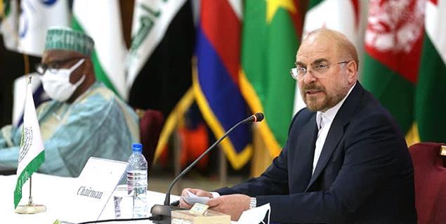 حضور دکتر محمد باقر قالیباف در نشست فوقالعاده کمیته فلسطین اتحادیه بینالمجالس سازمان همکاری اسلامی