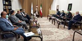 دیدار اعضای مجمع نمایندگان گیلان با نماینده ولی فقیه در استان
