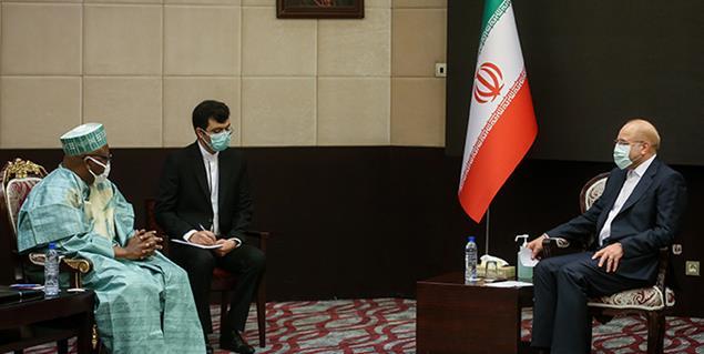 دیدار دبیرکل بین المجالس کشورهای اسلامی با دکتر محمد باقر قالیباف