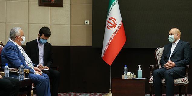 دیدار نایب رئیس مجلس تونس با دکتر محمد باقر قالیباف