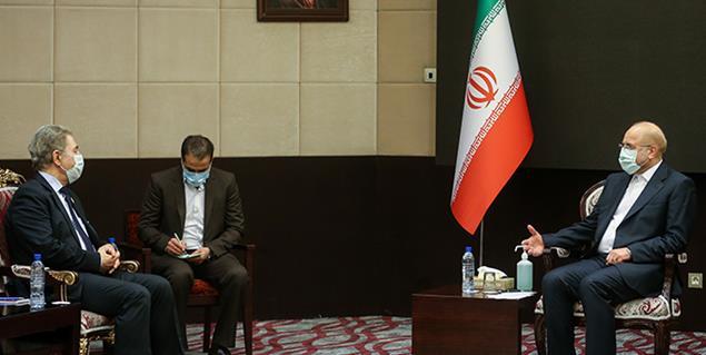 دیدار نایب رئیس مجلس سوریه با دکتر محمد باقر قالیباف