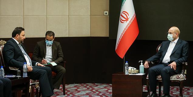 دیدار نایب رئیس مجلس عراق با دکتر محمد باقر قالیباف